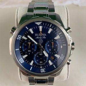 Men's Bulova Marine Star Chronograph Watch with